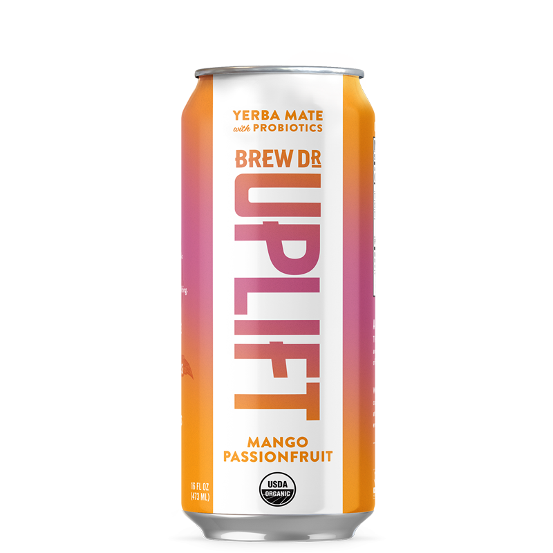 Brew Dr. Uplift - Mango Passionfruit - 16 oz can