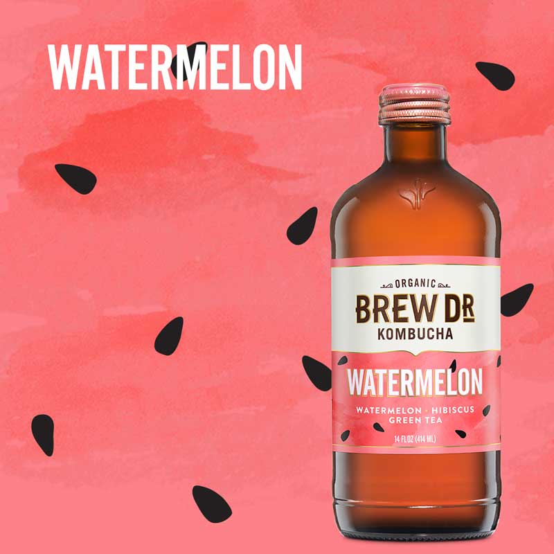 Limited Release Watermelon Kombucha